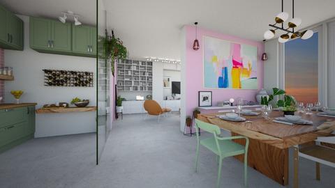 HC 1208 - Living room  - by diegobbf
