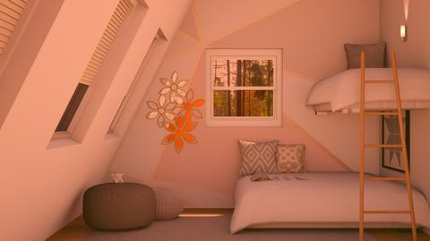 Geometric light - Minimal - Bedroom  - by Norbosa