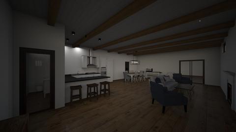 Lifeline House 1 - Living room  - by bmuscott