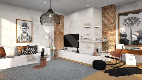 Books in corner  - Living room  - by percy_jackson_geek