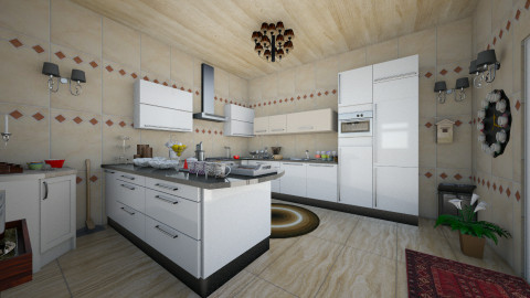 sms7 - Classic - Kitchen  - by safder shah
