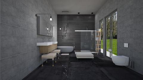 malibu bathroom - Modern - Bathroom  - by rcrites457