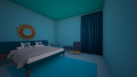 blue - Bedroom  - by chante246