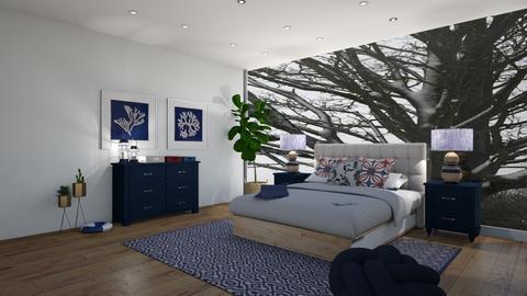 Nautical bedroom  - Bedroom  - by Doraisthe_nameofmydoggo12345