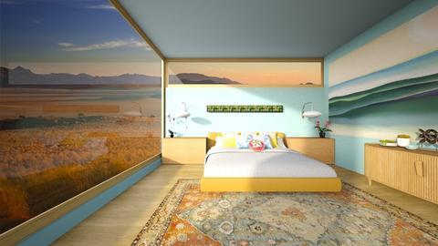 Georgia Okeeffe Bedroom - Bedroom - by lauren_murphy