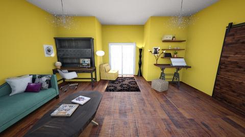 Rustic Vintage Office - Vintage - Office - by KajsaRain