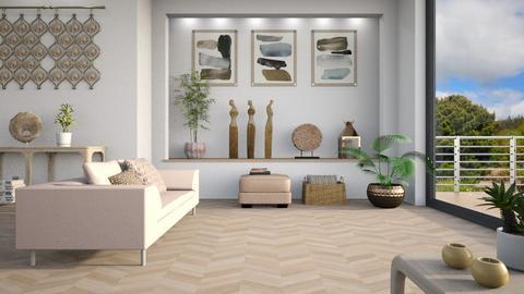 Haring Oak - Living room  - by LB1981