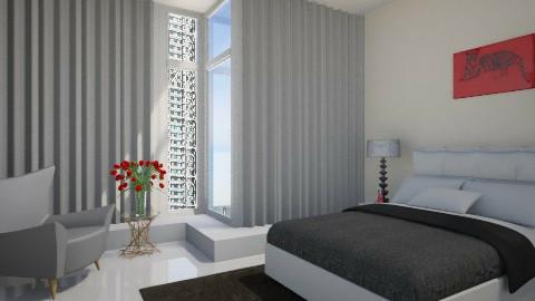 _Bedroom_ - Modern - Bedroom  - by anjuska9