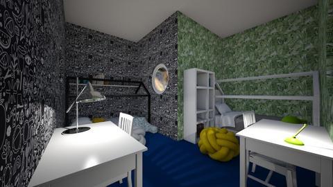 criss cross room 2 - Kids room  - by CW THE HARRY POTTER FAN