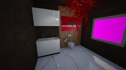 Dark Bathroom _2_ - Bathroom  - by BubbleSloth