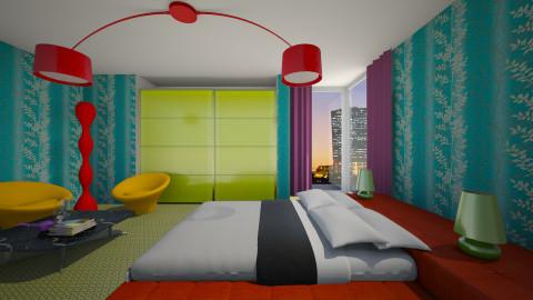 NeonLike - Modern - Bedroom  - by 3rdfloor