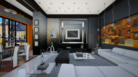 modernist elegance  - Modern - Living room  - by Ida Dzanovic