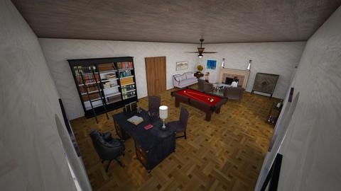 Studio - Vintage - Living room  - by hurricanike