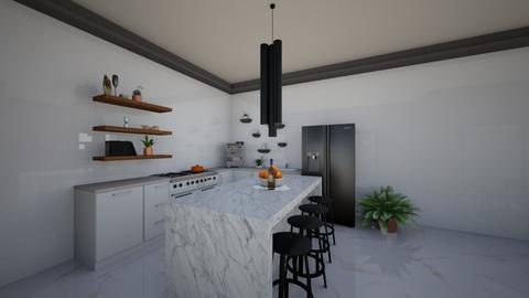 Cozy Kitchen - Minimal - Kitchen  - by Sana Kenanyahu