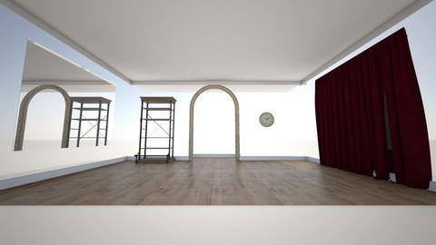 Violetta - Living room  - by mmemorgana