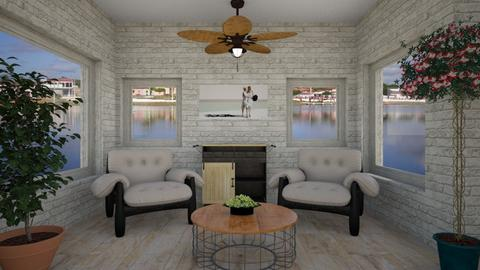 2021_Home Interior - Modern - Living room  - by Tupiniquim