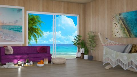 Beach Break Room - Bedroom - by beautiful luxury winter decoration