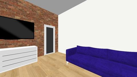 salon - Glamour - Living room  - by nikolau866a