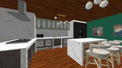 future loft - Kitchen  - by bbyxj