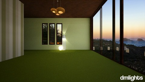green - Living room - by DMLights-user-1118154