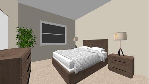guest 2 wicker nightstand - Bedroom - by Mittemiller