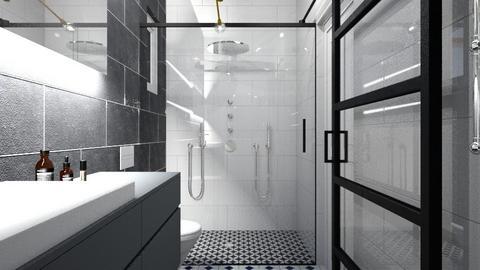 Bathroom_1 - Modern - Bathroom  - by Sefi Zohar