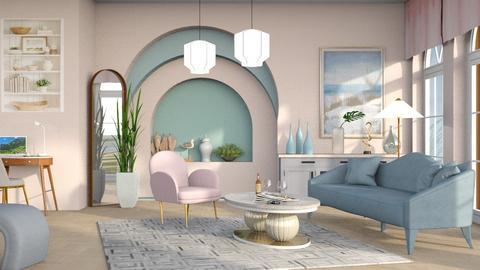 Ocean - Living room  - by milyca8