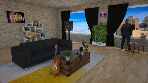 City - Living room - by Localzen
