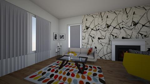 M2 - Living room  - by madalina tfg
