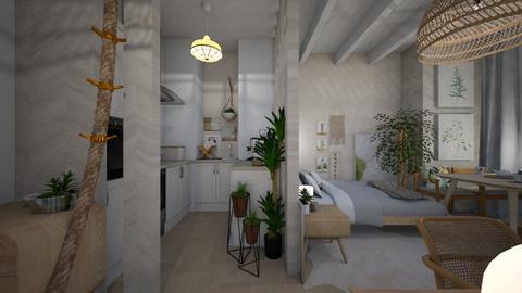 Smal apartement  - by Farah Kh