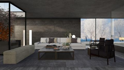 Hearth Tones - Modern - Living room  - by Claudia Correia