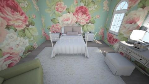 flowers from above - Feminine - Bedroom - by newyork4everloved