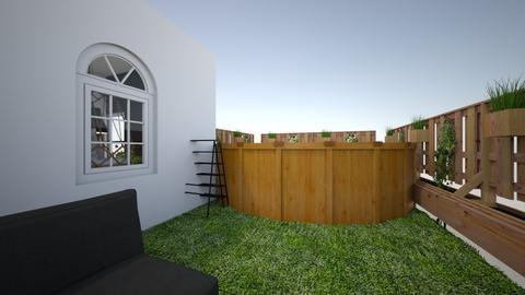 Projekt Martyny - Modern - Bedroom  - by Marta Moscicka