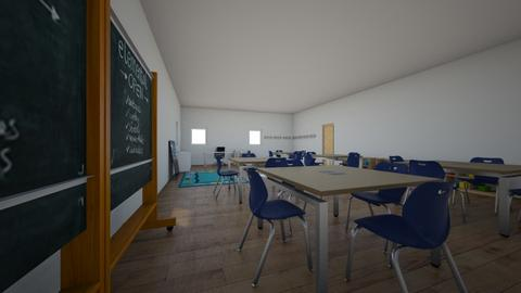 MI AULA 09 - Kids room  - by korice