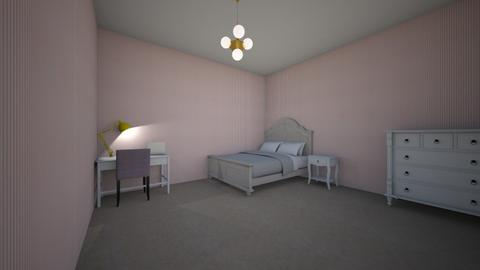 pop of colour - Bedroom  - by cody09