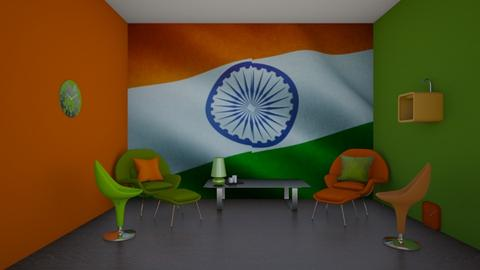 india - by Riordan simpson