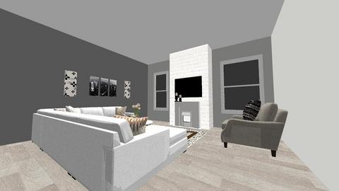 The living room  - Modern - Living room  - by Idkwhy