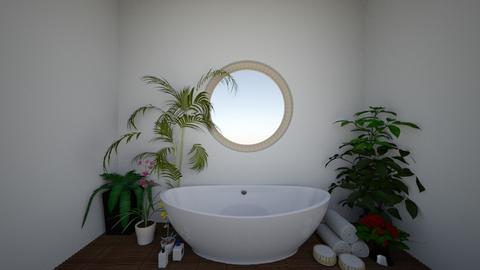 tropical bathroom - Bathroom  - by Wensday