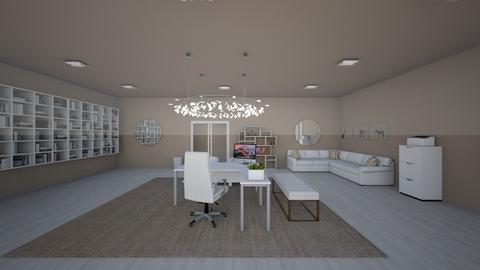 office - Modern - Office  - by BunnyJun
