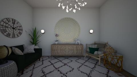 Modern Living  - Living room - by Anna Neeb