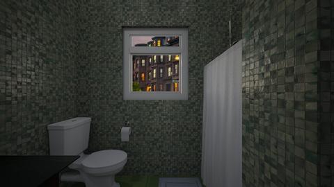 Micro Apartment 5 - Bathroom  - by SammyJPili