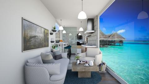 Container home - Living room  - by martinini