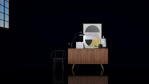 Sideboard and chair - Minimal - Living room  - by HenkRetro1960