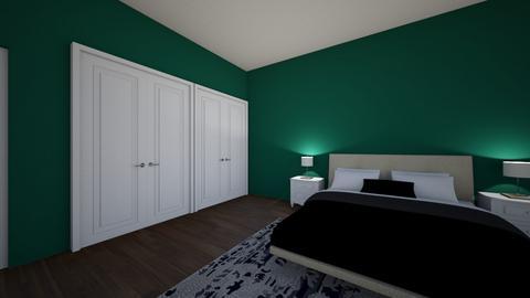 Small bedroom - Vintage - by Mpumek