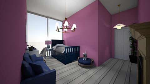 blue - Bedroom  - by bailylfc