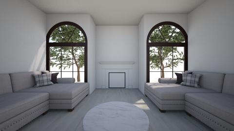 Black room - Living room  - by Matt Murfin