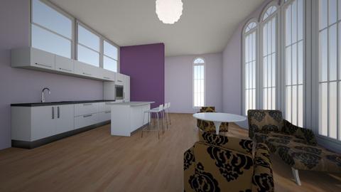 Little modern flat - Living room  - by Earvette