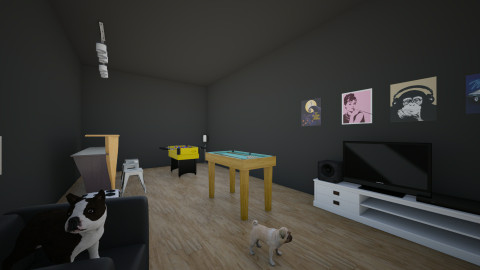 man cave  - Modern - by Maddie Freeman