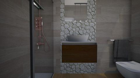 Cologno bagno ospiti24 - Bathroom - by natanibelung