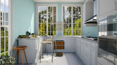 Summer kitchen - Country - by grgay0502